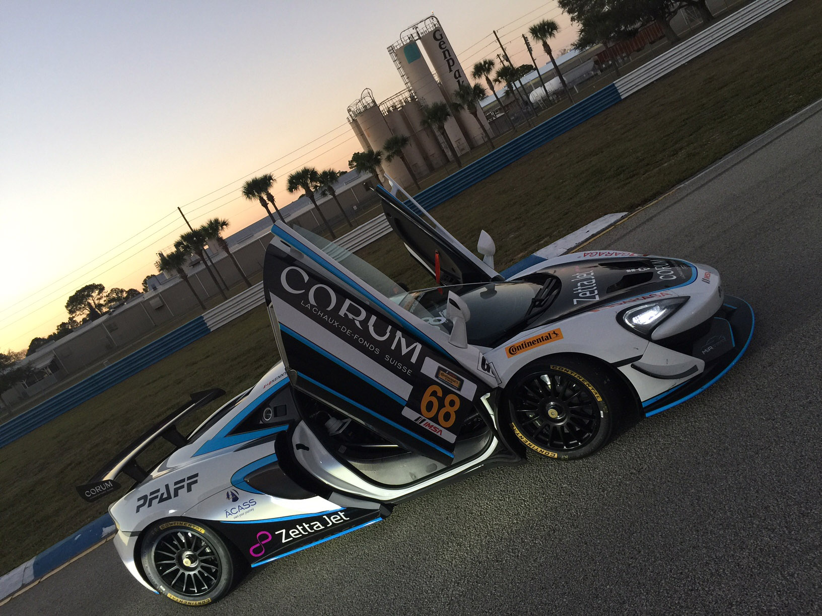 Corum Watches And Zetta Jet McLaren GT4s For The Motorsports In Action Team!